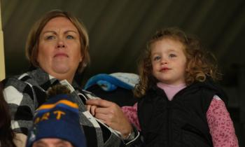 More Gallery of Photos of supporters at Hurling semi-finals in O'Donnell Park