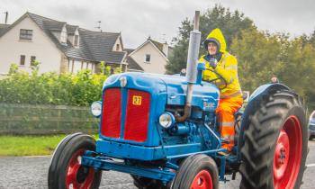 GALLERY: Inishowen Vintage Club Tractor Run in aid of Breast Cancer Awareness