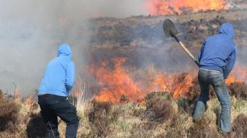 Councillors don't want to see a repeat of gorse fires in the Rosses