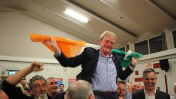 DONEGAL LEA - Noel Jordan elected on 12th count in Donegal town