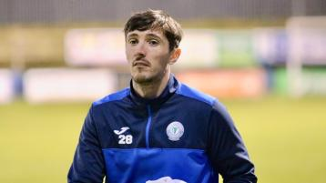 Finn Harps goalkeeper Mark Anthony McGinley looking for big performance in Inchicore