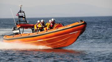 Bundoran RNLI carry out search after capsized kayak found off the shore at Nuns Pool
