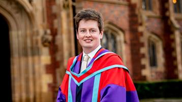 Queen's student graduates with PhD in Music and honours late friend