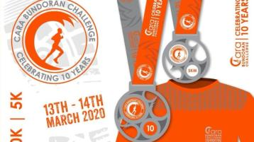 See the new look tops and medals for one of Donegal's most popular events