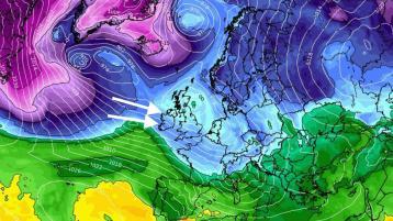 Pic: wxcharts.com / Weather Alerts Ireland