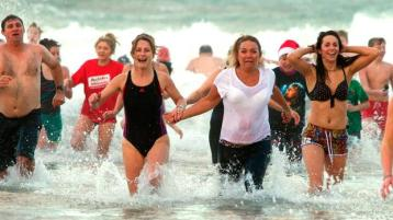 Donegal revellers asked to swim in safety this Christmas-New Year