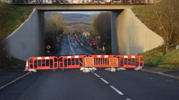 Killymard road closure
