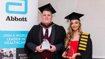 Abbott and IT Sligo Excellence Awards scores a job for Donegal student
