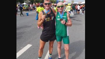 Donegal pair among 30,000 doing the Dubai Marathon