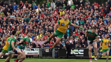 Donegal supporters need to get to MacCumhaill Park early this evening for Mayo clash