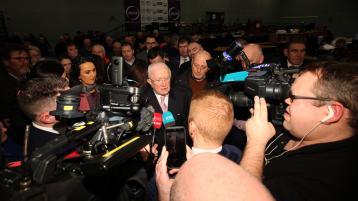 Pat 'the Cope' Gallagher lost his seat to Sinn Féin Tsunami