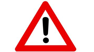 Warning sign source Pixabay