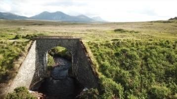 Fascinating drone footage and interviews in new DVD about old railway line in Donegal