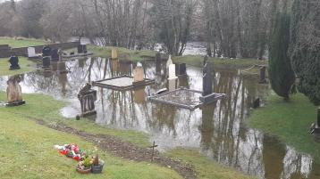 Major flooding issues  continue in the Finn Valley