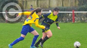 Donegal's female players flock to North to get football