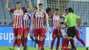 Carl McHugh's ATK are crowned Indian Super League champions