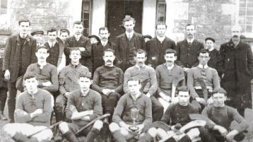 Ballyshannon hurlers defy a ban on Gaelic Games in Donegal during the Independence struggle