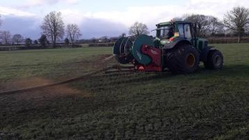 Spreading slurry – look after water quality in the River Derg