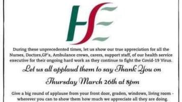 HSE Round of Applause