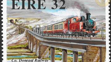 Amazing unpublished Donegal Railway stamps uncovered
