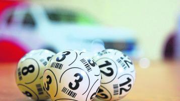 Garda bingo event