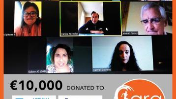 Heartfelt thanks from the worthy recipients of the Cara Bundoran Challenge €10,000 donation