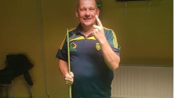Donegal Pool News - Darryl Dohwerty takes honours in first competition