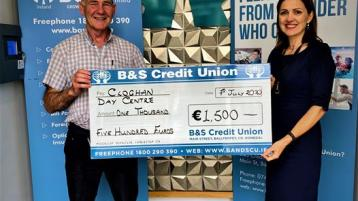 Generous donation to Cloghan Day Centre