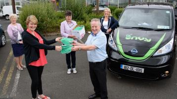 Face masks presented to Local Link after local community drive