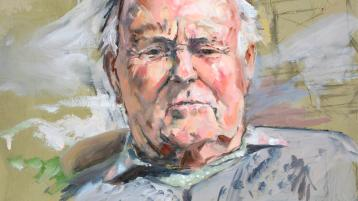 Twentieth anniversary of the death of the artist who is being remembered in a legacy exhibition at the Glebe gallery in Donegal