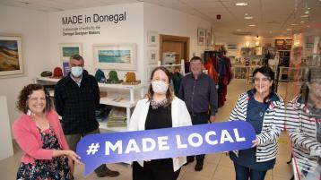 Made Local will support local makers and retailers of Irish craft in Donegal