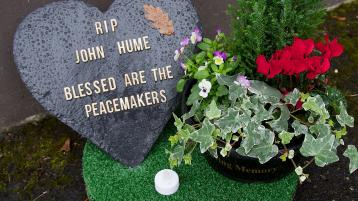 Eyes of the world on Derry today for the funeral of John Hume