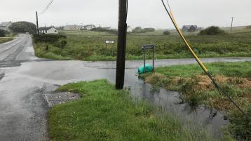 Cross-roads at Carrick Coyle