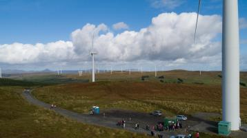 New wind farm
