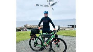 Another great achievement for Donegal adventurer Jason Black
