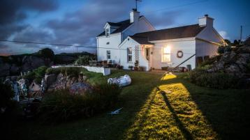 How would you like to own an idyllic island cottage situated off the coast of Donegal?