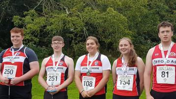 Lifford Strabane take home 10 medals from Ulster championships in Belfast