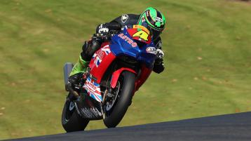 Double podium for Caolan Irwin at British Superbikes