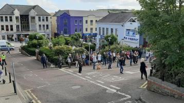 School were turning into prison camps Donegal rally told