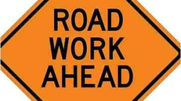 Road surfacing works on busy Donegal road today