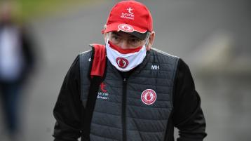 Mickey Harte disappointed with defeat but feels game will have brought Tyrone on