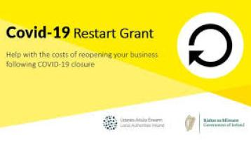 €15m paid out in grant funding under the Restart Grant Schemes in Donegal
