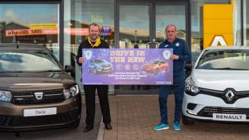 Finn Harps team up with Highland Motors for New Year, New Car draw