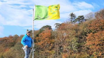 Pauric Kennedy flag