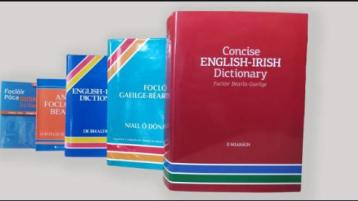 President MicheálD.ÓhUigínn to launch new English Irish dictionary today as part of Oireachtas na Samhna