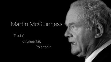 Huge achievement for Gaoth-Dobhair-based company as their Martin McGuinness documentary is to be broadcast at three film festivals simultaneously