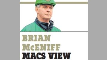 BRIAN MCENIFF COLUMN: Disappointing result for Donegal but 'sun will shine again'