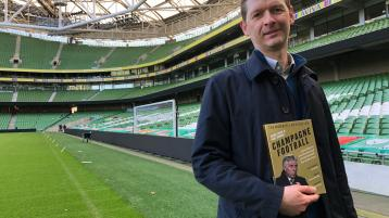 Sports Book of Year 'Champagne Football' and Mark Tighe's Donegal connection