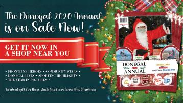 Donegal Annual 2020 - a great gift idea for someone away from home