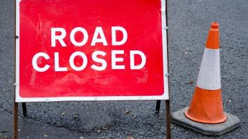 Major Donegal road will be closed for several hours today